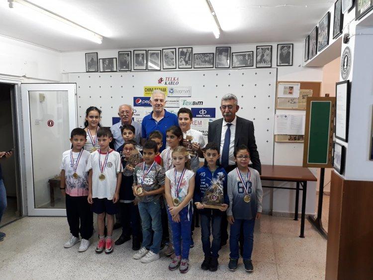 Yusuf Değirmencioğlu Satranç Tunuvası Ödül Töreni Yapıldı