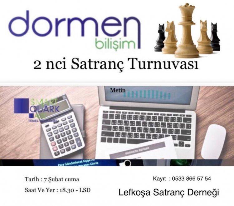 2 inci Dormen Bilişim Satranç Turnuvası – Ödül Töreni